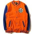 Новый Японский Аниме Dragon Ball Гоку Varsity Куртка Осень Повседневная Толстовка с капюшоном Куртки Пальто Марка Бейсбол Куртка Lh23 Z15