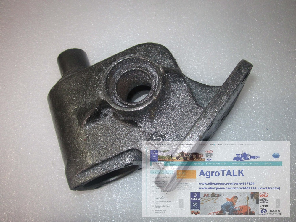 TS304 tractor parts, the steering gear case (housing), part number: 25.40.109A jinma554 tractor parts the conector fo power steering cylinder part code