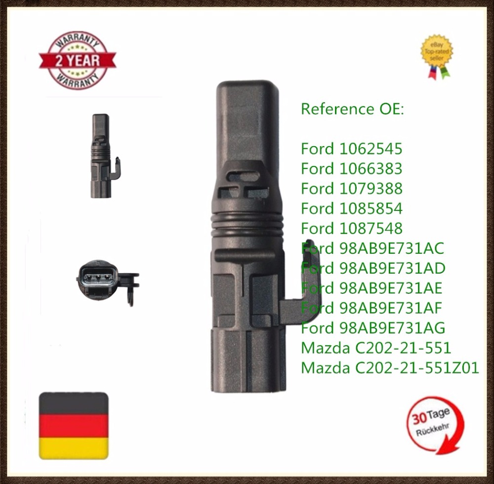 small resolution of 1 x pcs new speed sensor for ford fiesta mk5 focus mk1 fusion 1 4 1 6 1 8 oe 1062545 1066383 1079388 98ab9e731ac on aliexpress com alibaba group
