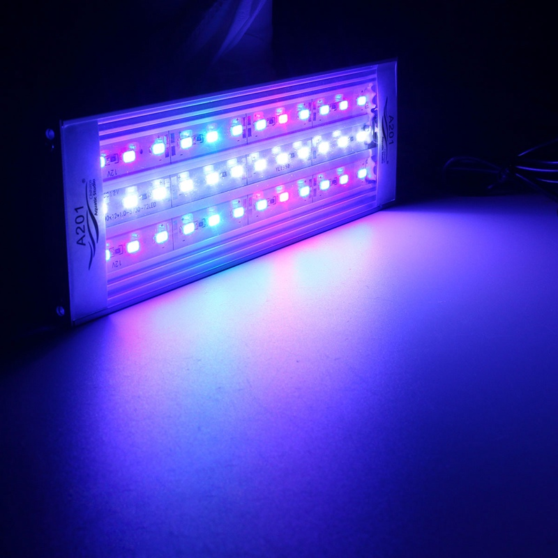 20/25/30/31/35/36/40/45/50/60cm LED Underwater Light RGB 5730 SMD Aquatic Coral Aquarium Sea Reef Fish Tank US/EU/UK/AU Plug