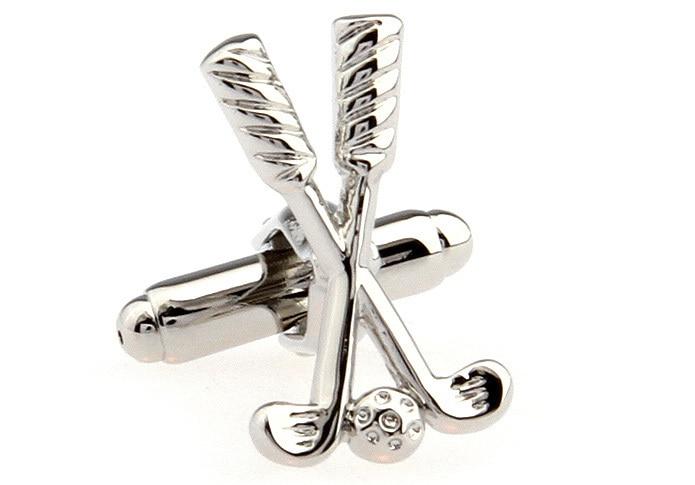Lepton Classic Sport equipment Cufflink golf clubs style cufflink man french shirt cuffs cufflinks for men