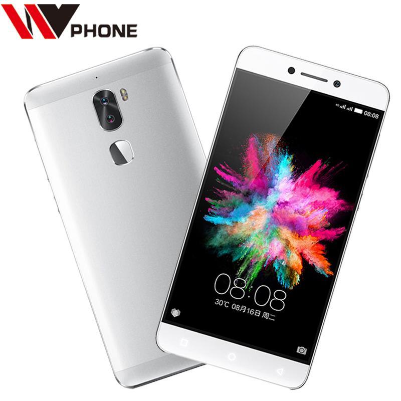 Leeco cool 1 3G RAM 32G ROM Letv Cool1 LeRee Le3 C103 4G LTE téléphone portable 5.5 FHD double caméra arrière identification d'empreintes digitales