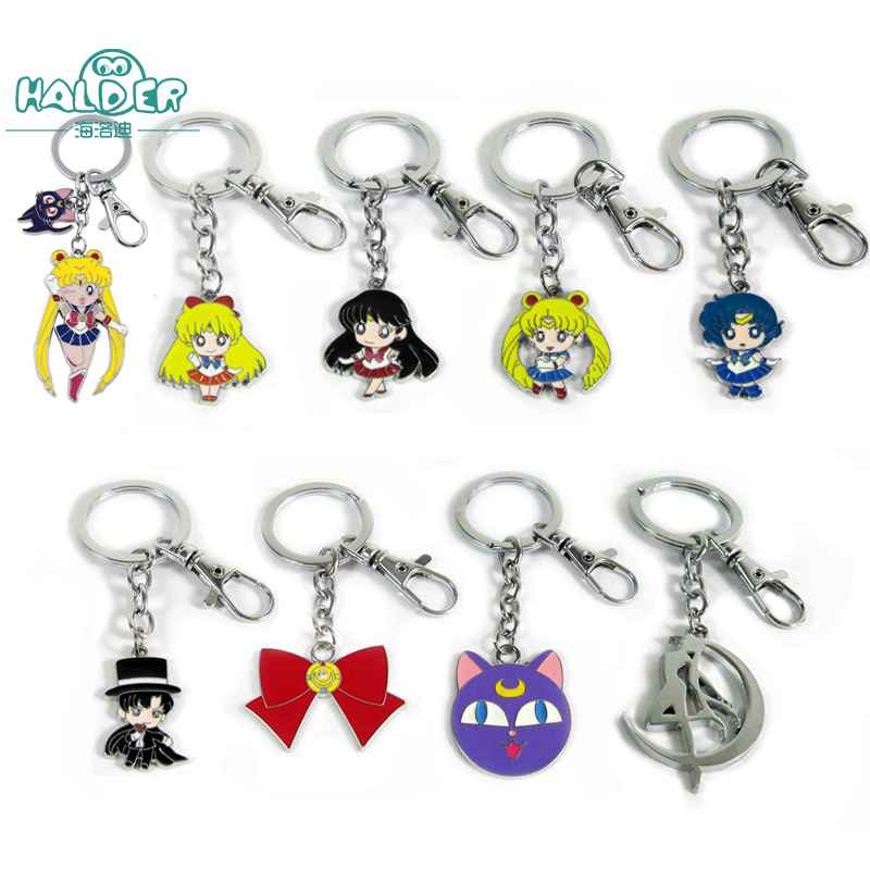 Sailor Moon 20th Anniversary Cameo Charm ~ Mars ~ Strap Accessory Keychain