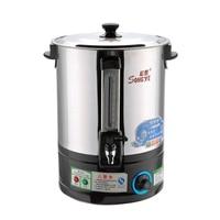 Commercial Electric ร้อนถังน้ำสแตนเลสฉนวนกันความร้อนต้มถังน้ำต้มน้ำชาเครื่องทำความร้อนขนาดใหญ่