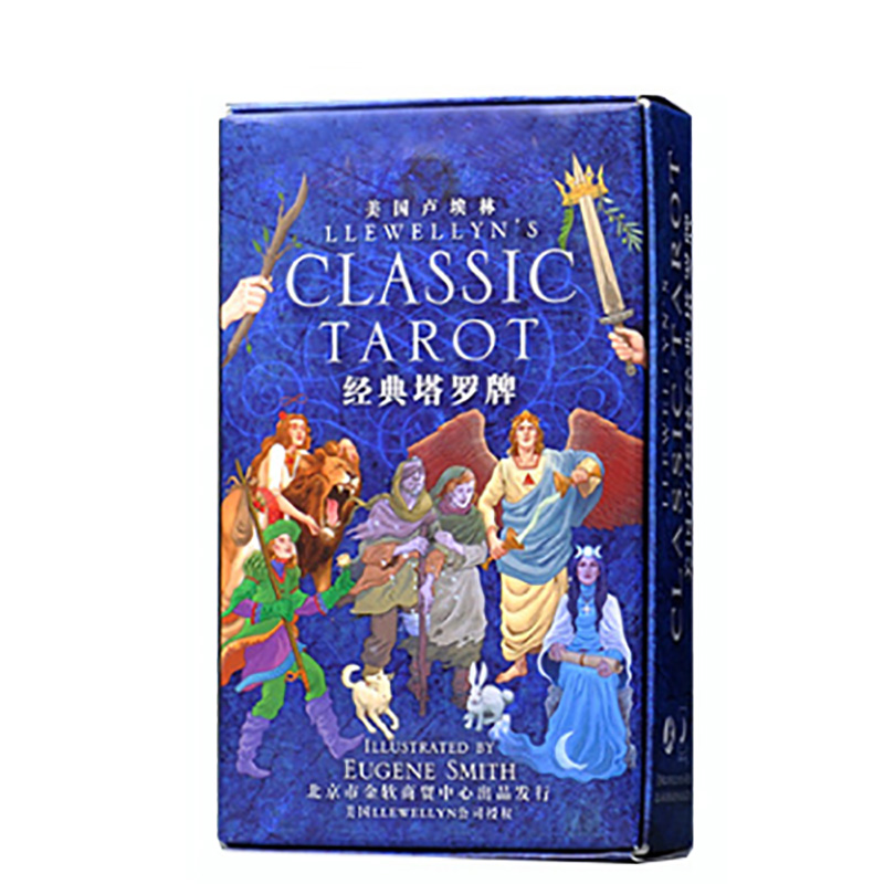 Classic Tarot Cards Divination Cards Game 12*7cm Cards Chinese Version For Family/Friends