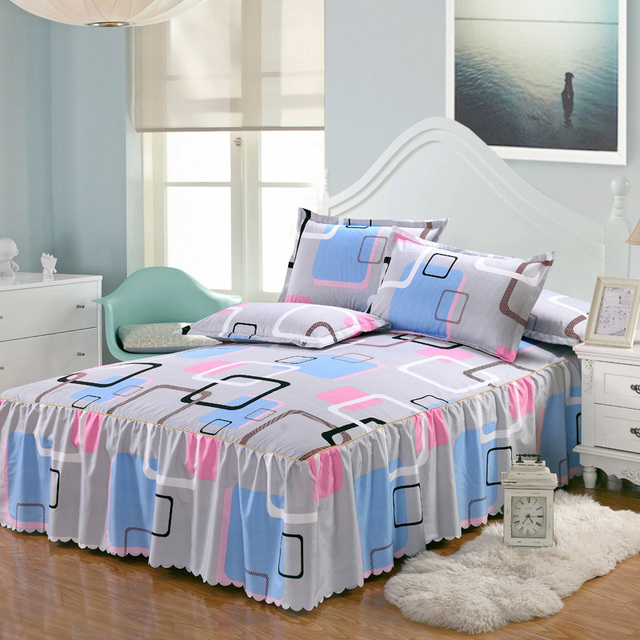 D  Bed Skirt Full bed with storage 5c64ed4a23a74