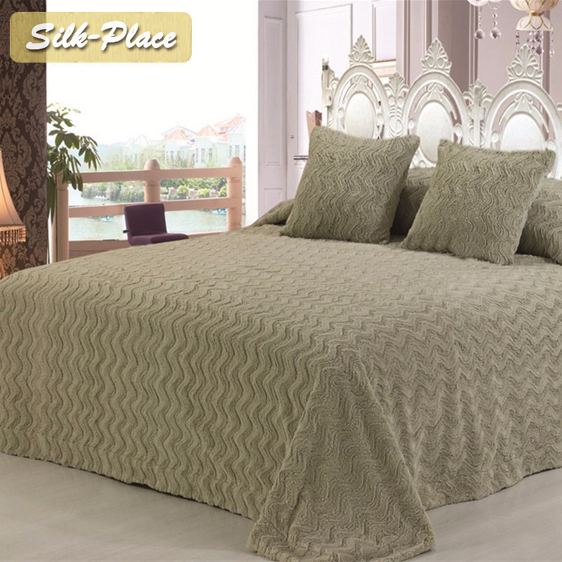 Silk Place Textile Giant Adults Machine Knitted Bedding Famous Chunky Knit Blanket Summer Quilt Giant Wool Blanket image