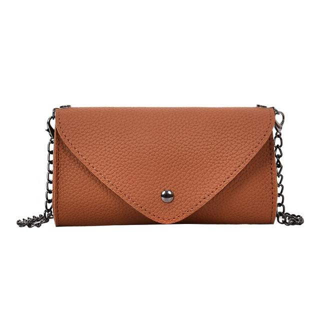 Fashion Waist Bags Women PU Leather Fanny Pack Belt Bags Retro Small Phone Purse Pouch Chain Messenger Bag celular for Girls