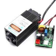 Oxlasers 12V 5W 5.5W z możliwością ustawiania ostrości niebieski laser głowy dla majsterkowiczów grawerowania laserowego maszyna do moduł laserowy do cięcia z kontrolą TTL