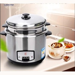 CFXB-50G mini appliance rice cooker 3L stainless steel 220V/50Hz Chassis heating soup Stainless steel liner Rice Cookers 500W