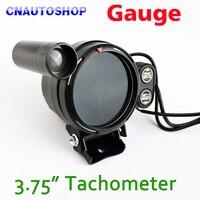3 75 95mm Tachometer Gauge 3 3 4 Inch Car Tacho Meter Blue LED With Shift