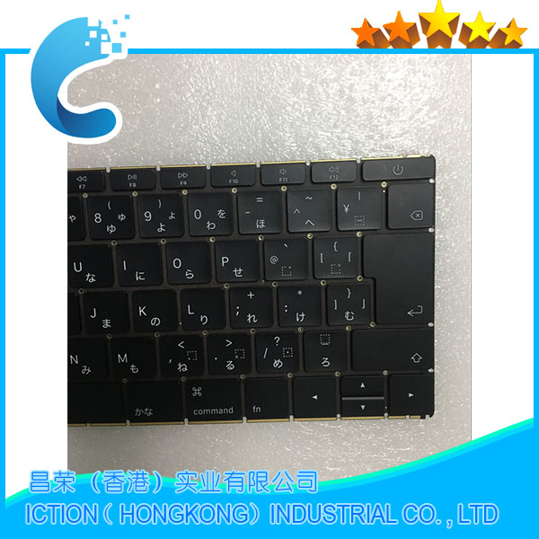 Original NEW A1534 Keyboard Japanese Japan JP 2016 Years for MacBook Retina 12 A1534 Japanese Japan JP Keyboard 2016 Years years