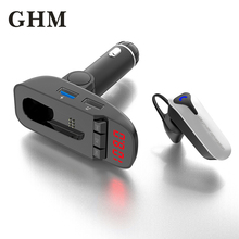 Car Bluetooth Handsfree Phone Kit Usb Bluetooth Earphone Hands-free Headphone Mini Wireless Headsets Earbud Earpiece bq638 2 in 1 wireless bluetooth 4 1 headsets car charger in car headphone car kit earphone hands free calling for iphone android