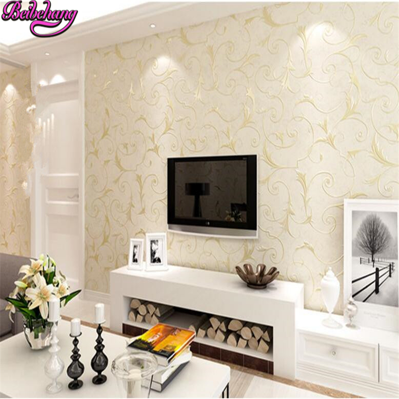 beibehang papel de parede 3d stereo wallpaper European rural non woven bedroom with the home TV background wall 3d wallpaper beibehang rural micro flocking non woven 3d wallpaper bedroom aisle restaurant background wall wallpaper papel de parede tapety