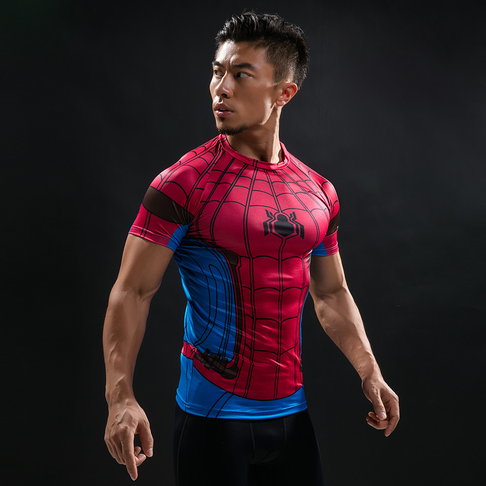 Punisher 3D Printed T-shirts Men Compression Shirts Long Sleeve Cosplay Costume crossfit fitness Clothing Tops Male Black Friday 106