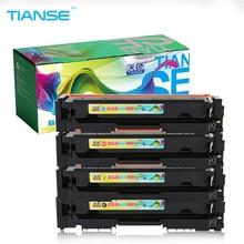 TIANSE 1set CF400A CF401A CF402A CF403A 201a for HP201A toner cartridge for HP Color LaserJet PRO M252 M252DW MEP M277 M277DW