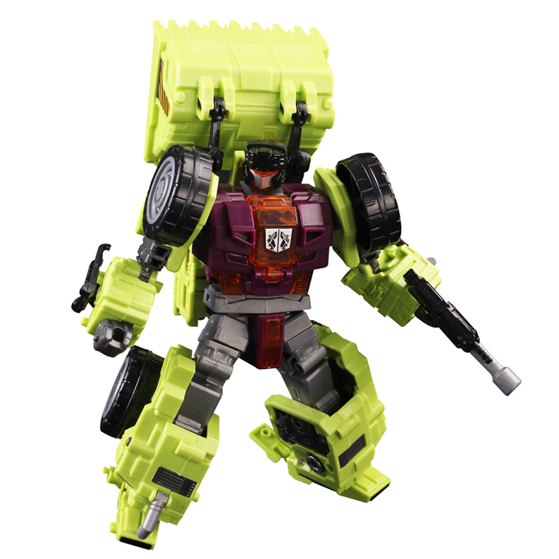 Classic Devastator Transformation ko GT-1A Scraper technical deformation Devastator robot figure toys gift for kid viruses cell transformation and cancer 5