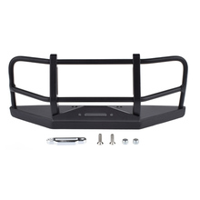 RC 1/10 Rock Crawler Metal Front Bumper for 1/10 RC Crawler Car Axial SCX10 & SCX10 II 90046 D110 D90 90046 injora roof rack luggage carrier controllable light bar for 1 10 rc crawler rc4wd d90 land rover axial scx10 jeep scx10 ii 90046