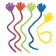 Детские вечерние игрушки с липкими ручками, новые призы, подарок на день рождения