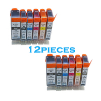 12pcs Full PGI 225 CLI 226 Compatible Ink Cartridge For Canon PIXMA MG6120 MG6220 MG8220 MG8120