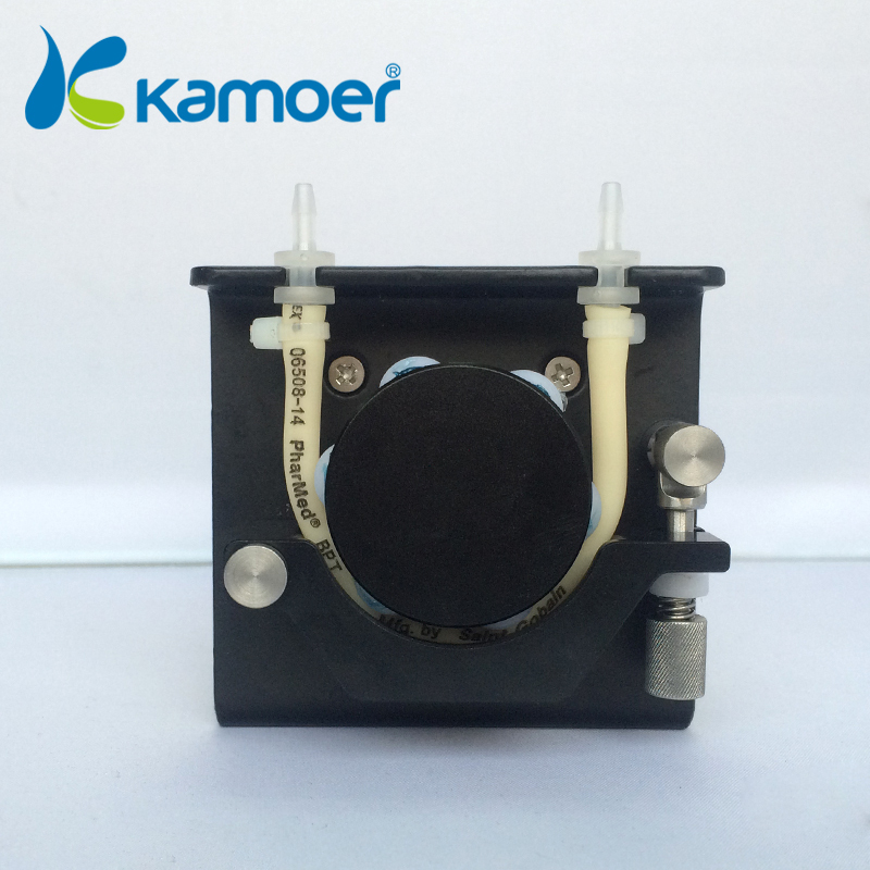 small peristaltic  pump 24 VOLT PUMP with stepper motor mini electric water pump with high percision micro dosing pump kamoer(L) kamoer small peristaltic pump with stepper motor mini electric water pump 24v 12v liquid pump with high percision dosing pump