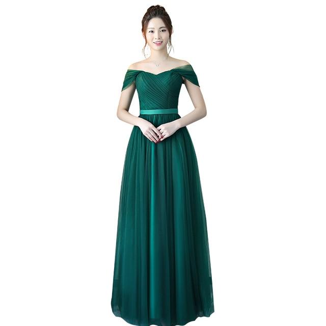 Beauty-Emily Lace Bridesmaid Dress 4