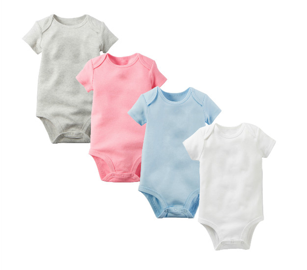 4pcs lot baby bodysuits 2016 summer 100 cotton body bebe - Lot body bebe ...