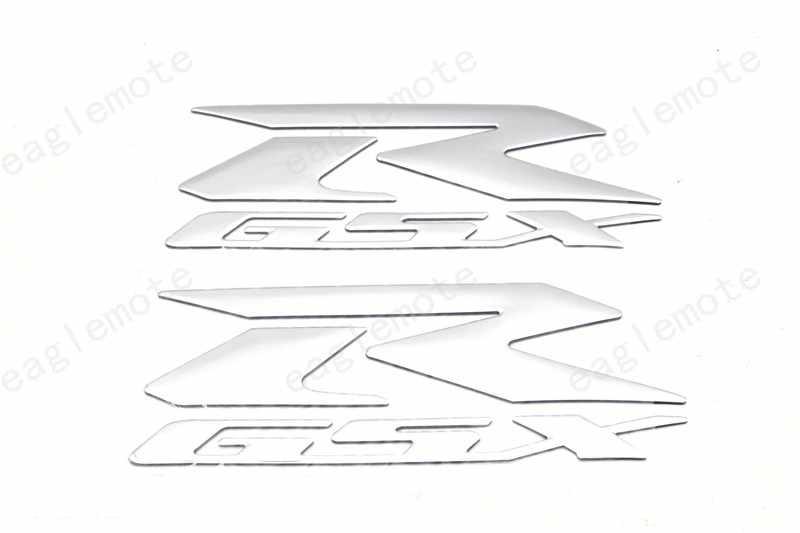 Gsxr GSX R Sepeda Motor Reflektif Stiker dan Stiker Sepasang untuk Suzuki Gsxr 600 750 1000 K1 K2 K3 K4 k5 K6 K7 K8 H1