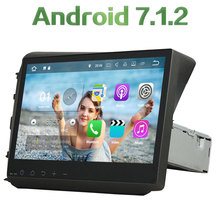 2GB RAM Quad core Android 7.1.2 1 din 10.1 inch Capacitive Touch Screen GPS Navigation Bluetooth Player For Honda CIVIC 2012