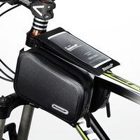 Touch Screen Phone Bag For 6.0 in CellPhone Bike Accessories bicycle bag Frame Front Head Top Tube bag Waterproof road bike