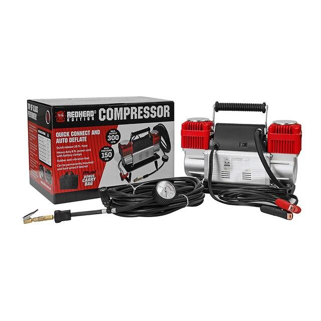 12V 150PSI Car Air Compressor 300L/Min Portable Pressure Pump Tyre Deflator 4WD 1