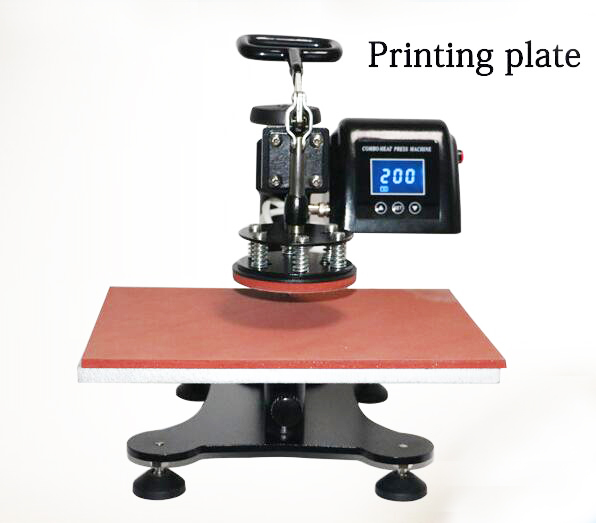 ToAuto 9In1 Mug Heat Press Machine Digital Sublimation Transfer 220V Tshirt Caps Printing Tool Parts Embossing Marking Machine