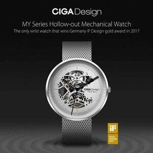 Image 5 - Оригинальные механические наручные часы Youpin CIGA MY Series, мужские и женские механические часы с золотой премией iF Design H28