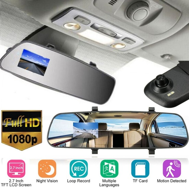 KONNWEI 2.7-Inch Full HD 1080P LCD Car Camera Dash Cam Video Recorder Night Vision