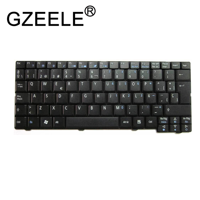 GZEELE NEW For Acer Aspire One Zg5 A110 A150 D150 D250 D210 ZA8 ZG8 KAV60 Emachines EM250 Keyboard Spanish Teclado Latin LA SP