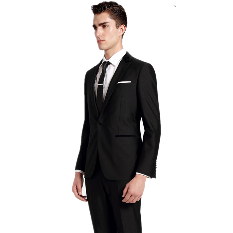 Hot Models Fashion Slim Men\'s Suits Suit Men Wedding Wedding Dress ...