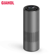 GIAHOL Intelligent HEPA Air Purifier Car/Nature Fresh Air Purifier best for Car Home Office Auto Accessories for Travel Purifier free shipping high quality factory price office hotel ionic air purifier auto air purifier for car convenientfrom ohmeka