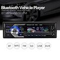 Reproductor de Radio Estéreo Bluetooth Del Teléfono del coche AUX-IN MP3 FM/USB/1 Din/Coche de control remoto 12 V Audio Auto 2017 Venta Nuevo