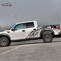 Citycarauto Car Styling WHOLE BODY STICKER KK MATERIAL FOR NAVARA F150 D MAX LC200 PICKUP CAR