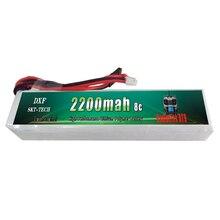 2017 DXF Good quality RC Battery Li-Polymer 3S 11.1V 2200MAH 8C 3PK Lipo Battery For RadioLink AT9 Transmitter