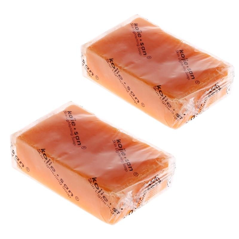 Reiniger Bad & Dusche Konstruktiv Bleaching Seife Haut Bleichen Kojic Säure Glycerin Handgemachte Seife Tiefen Reinigung