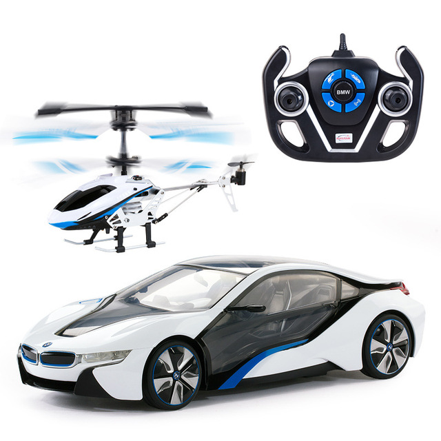 I8 Remote Control Car Plane Set Of Children S Toy Car Remote