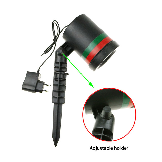 Lawn Laser Spotlight Light 100-240V Stage Lamps Sky Star Waterproof Landscape Park Garden Christmas Party House Decor UR