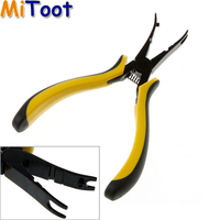Wholesale 3pcs Lot Ball Link Plier RC Helicopter Airplane Car Repair Tool Kit Yellow Drop Freeshipping