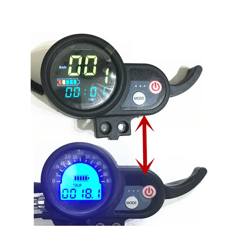 2018 Electric Scooter Display Accelerator Electric Skateboard Accelerating Meter Color Screen Monitor Instrument