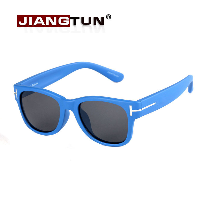 JIANGTUN High Quality Kids Sunglasses Polarized For Baby Outdoor Sport Google Sun Glasses Baby Boys Girls UV400 Eyewear Lentes