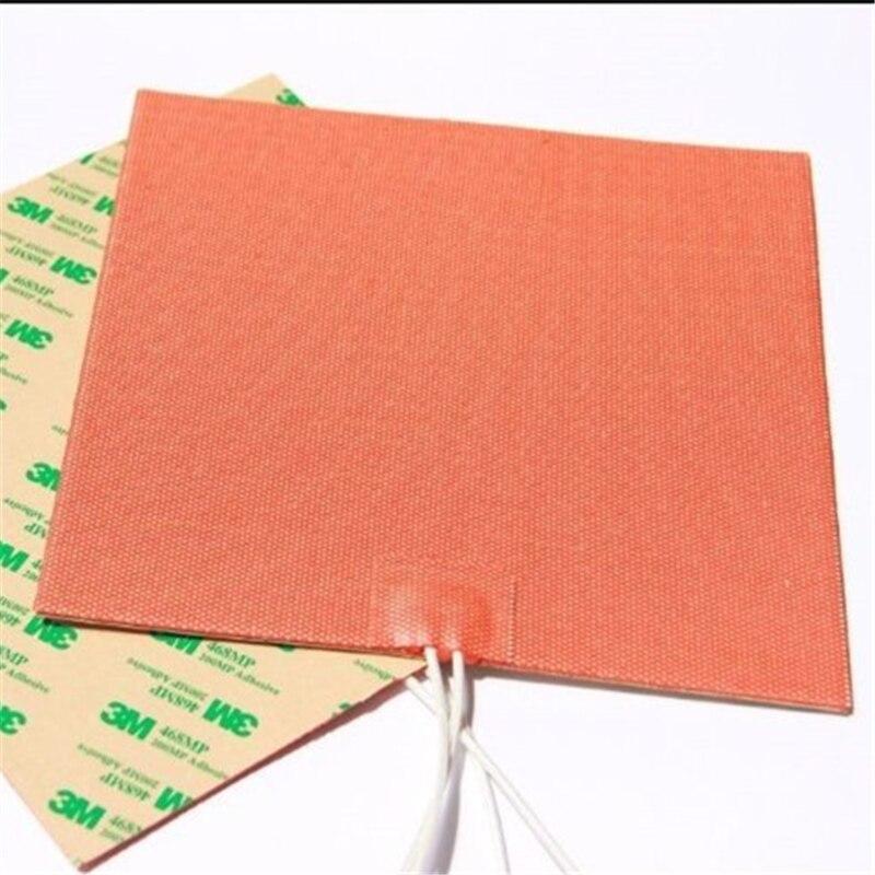 Réchauffeur industriel 400x400mm de Silicone 500 W/110 V pour le lit chauffé d'imprimante 3D de Reprap