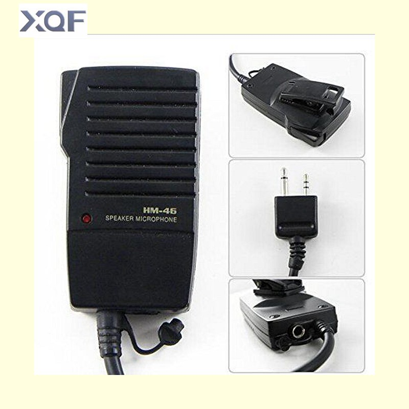 HM-46 Handheld Speaker Mic For ICOM IC-V8 V82 V85 IC-T2H T8A 2AT E90 W32A Radio