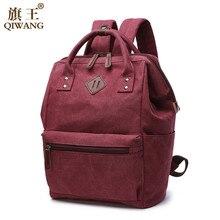 ФОТО mini backpack canvas backpack women bag for teenage girl school bag vintage canvas kanken backpack solid mochila feminina