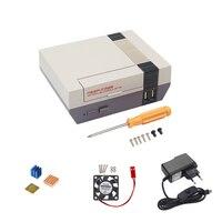 NESPi Raspberry Pi 3 Model B Case Retroflag Nespi Case Classical Box Fan Heat Sink 16G